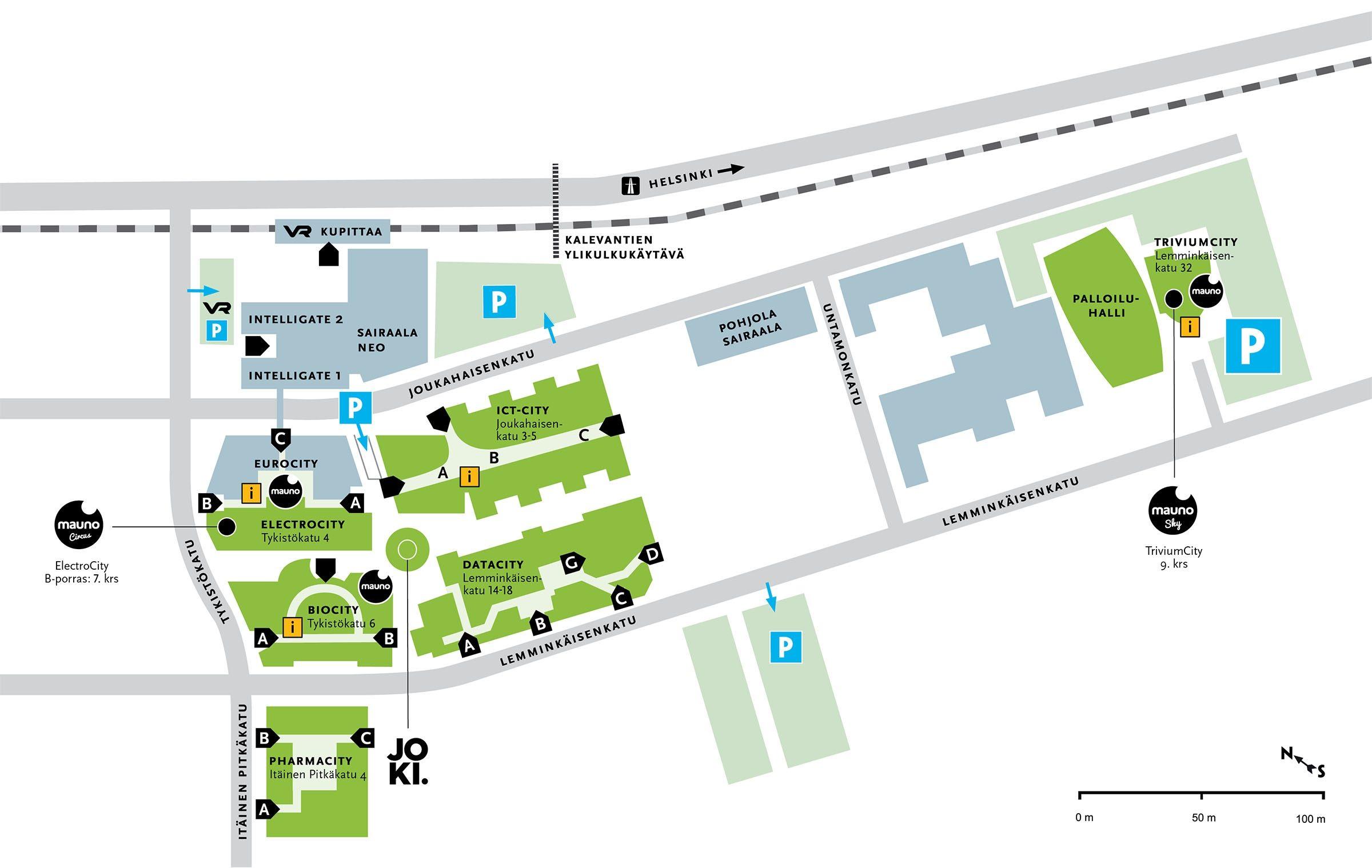 Kartta Mauno